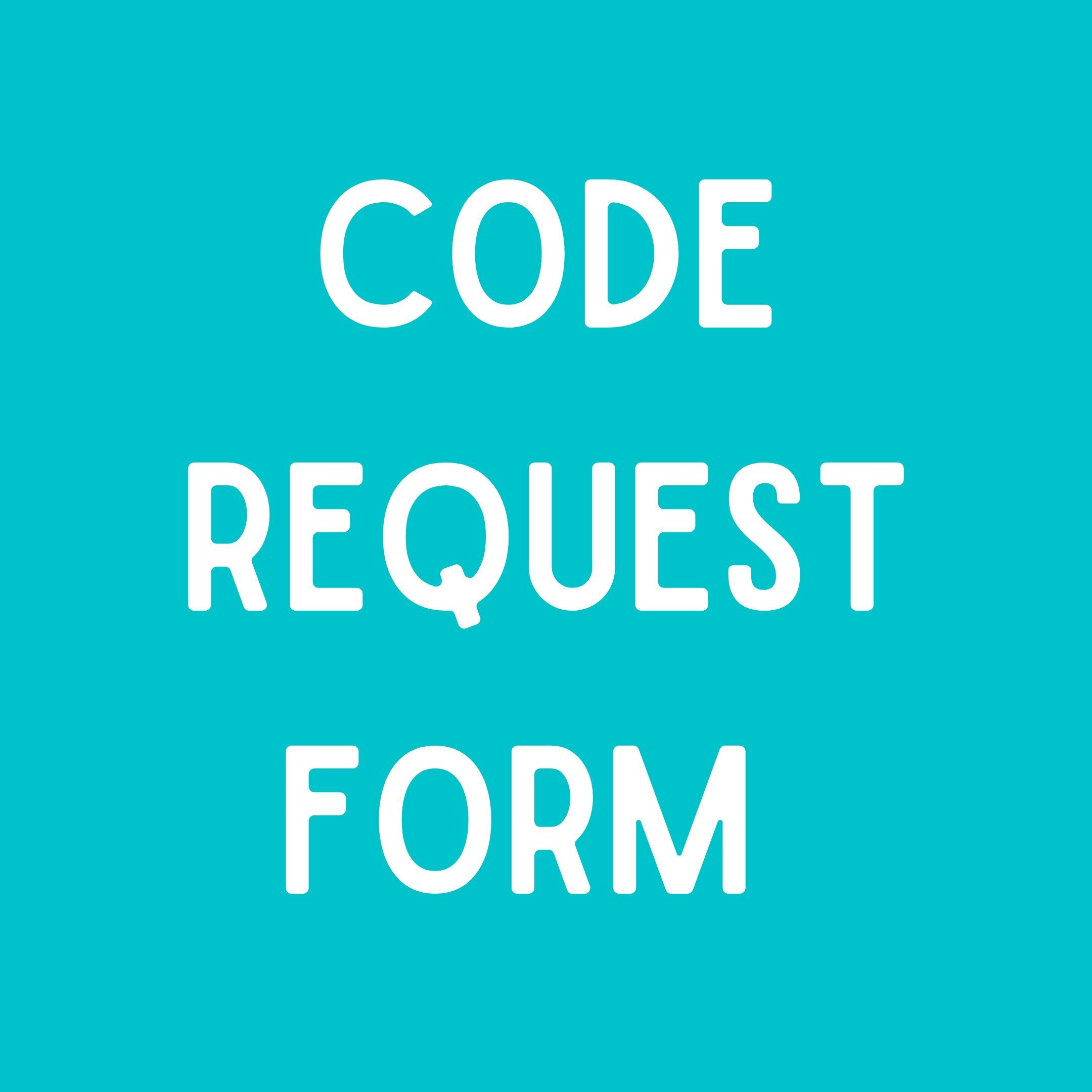 code request form